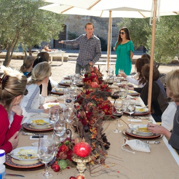 Luncheon at the Villa