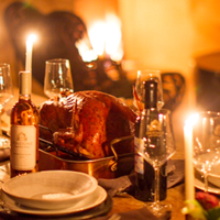Perfect Holiday Pairings- Herb and Butter Roasted Turkey with White Wine Pan Gravy