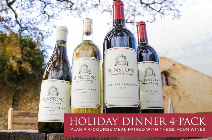 Perfect Holiday Dinner Plan: 4 Course Recipes & Wine Pairings!
